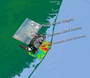 Layers used in habitat analysis from Chiroptera Lidar data in Barnegat Bay, NJ